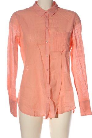 H&M L.O.G.G. Langarmhemd pink Streifenmuster Casual-Look