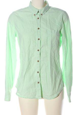 H&M L.O.G.G. Langarmhemd grün Casual-Look