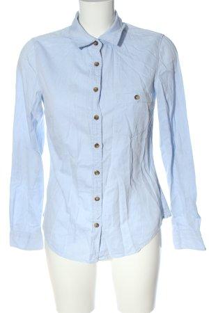 H&M L.O.G.G. Langarmhemd blau Casual-Look