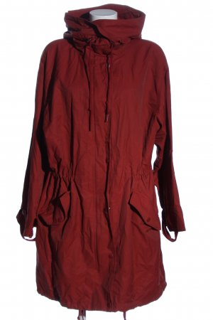H&M L.O.G.G. Lange Jacke rot Casual-Look