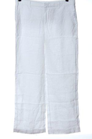 H&M L.O.G.G. Pantalón de lino blanco look casual