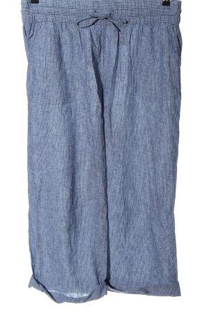 H&M L.O.G.G. Leinenhose blau Casual-Look