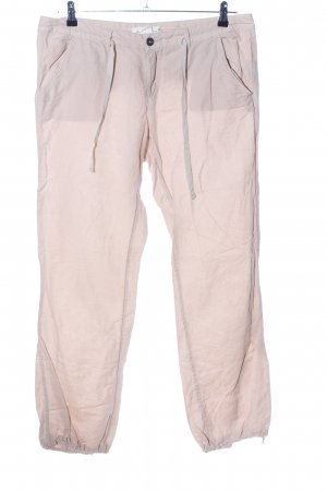 H&M L.O.G.G. Linnen broek wolwit casual uitstraling