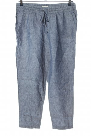 H&M L.O.G.G. Pantalone di lino blu stile casual