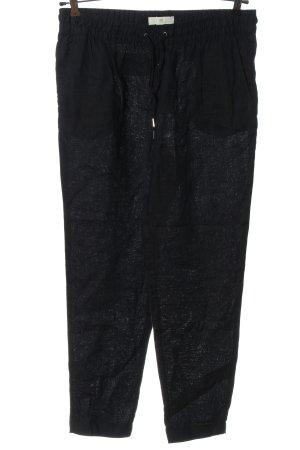 H&M L.O.G.G. Lniane spodnie niebieski W stylu casual