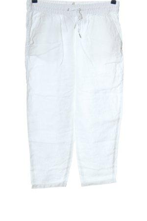 H&M L.O.G.G. Pantalone di lino bianco stile casual