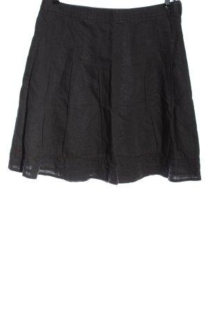 H&M L.O.G.G. Lniana spódnica jasnoszary W stylu casual