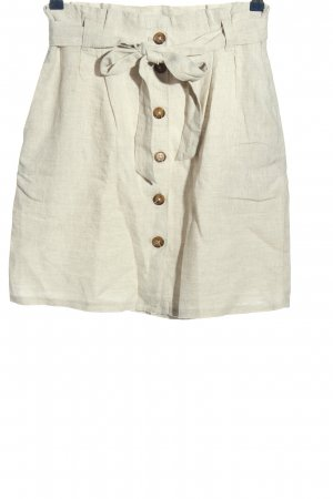 H&M L.O.G.G. Falda de lino gris claro look casual