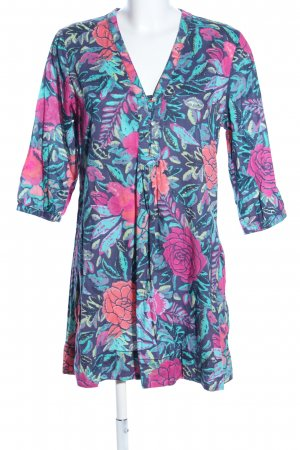 H&M L.O.G.G. Long Blouse flower pattern casual look
