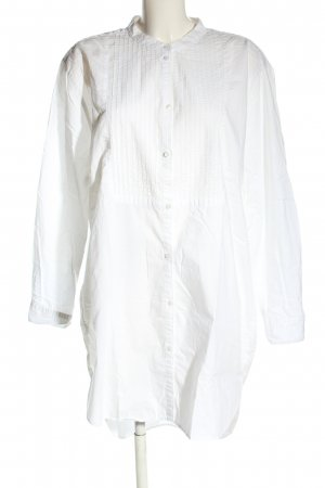 H&M L.O.G.G. Long-Bluse weiß Casual-Look