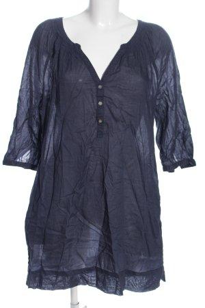 H&M L.O.G.G. Long-Bluse blau Casual-Look