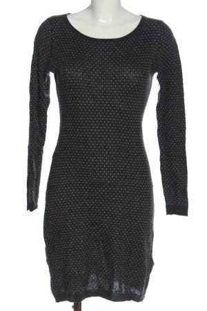 H&M L.O.G.G. Longpullover schwarz-weiß Casual-Look
