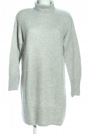 H&M L.O.G.G. Long Sweater light grey-green flecked casual look