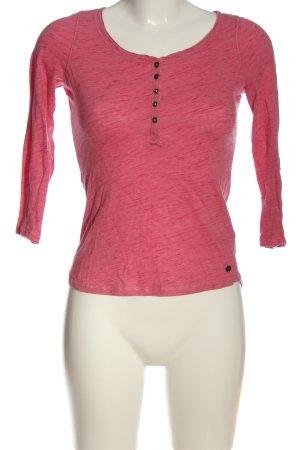 H&M L.O.G.G. Longsleeve pink meliert Casual-Look
