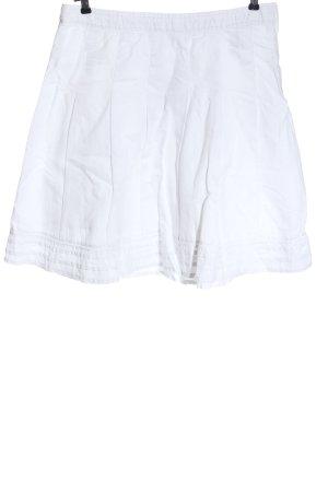 H&M L.O.G.G. Falda de lino blanco look casual