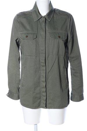 H&M L.O.G.G. Military Jacket khaki casual look