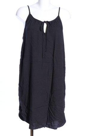 H&M L.O.G.G. Minikleid schwarz Casual-Look