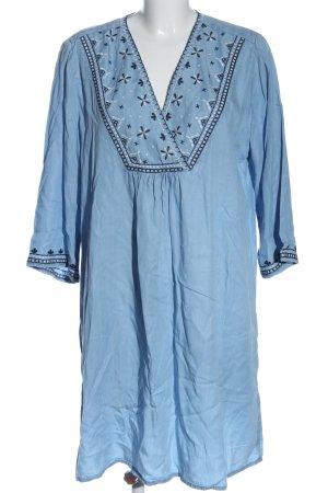 H&M L.O.G.G. Minikleid blau Casual-Look