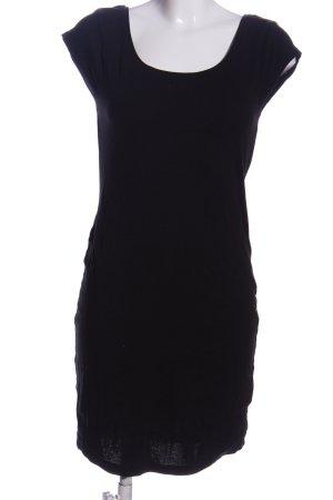H&M L.O.G.G. Minikleid schwarz Elegant