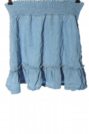 H&M L.O.G.G. Minirock blau Casual-Look