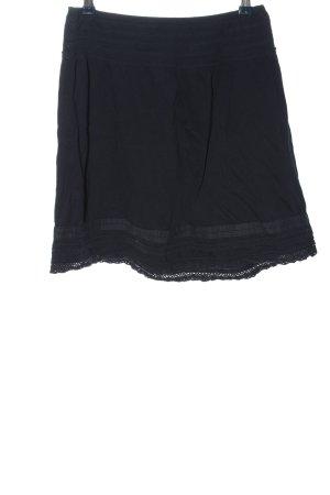 H&M L.O.G.G. Minirock schwarz Casual-Look