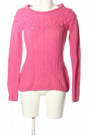 H&M L.O.G.G. Norwegian Sweater pink casual look