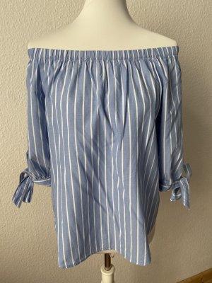 H&M L.O.G.G. Off-Shoulder-Bluse
