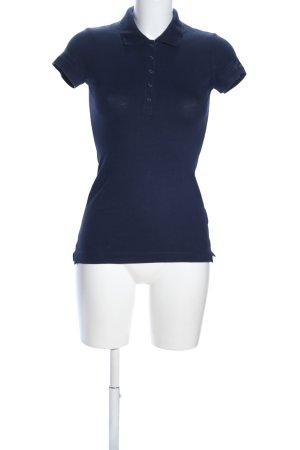 H&M L.O.G.G. Polo Shirt blue casual look