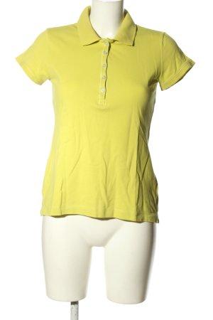 H&M L.O.G.G. Polo-Shirt blassgelb Casual-Look