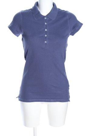H&M L.O.G.G. Polo-Shirt blau Casual-Look