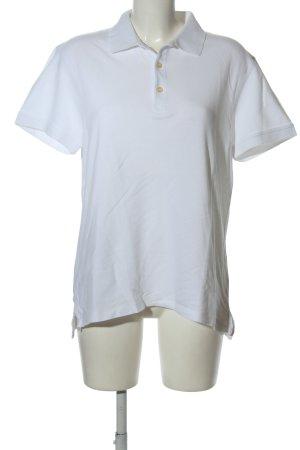 H&M L.O.G.G. Koszulka polo biały W stylu casual