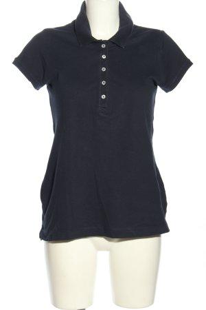 H&M L.O.G.G. Polo-Shirt schwarz Casual-Look