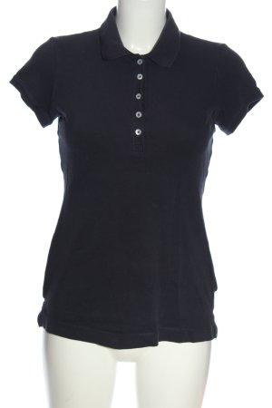 H&M L.O.G.G. Polo-Shirt dunkelblau Casual-Look