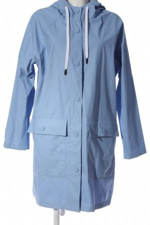 H&M L.O.G.G. Heavy Raincoat blue casual look