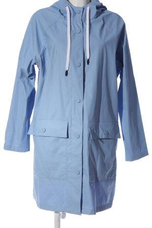 H&M L.O.G.G. Manteau de pluie bleu style décontracté
