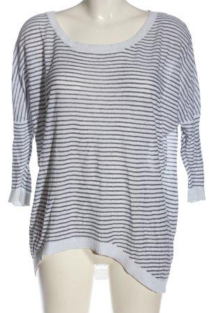 H&M L.O.G.G. Koszulka w paski biały-czarny Na całej powierzchni W stylu casual