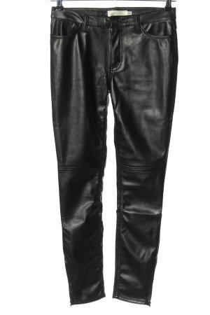 H&M L.O.G.G. Röhrenhose schwarz Casual-Look