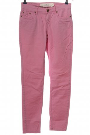 H&M L.O.G.G. Röhrenjeans pink Casual-Look
