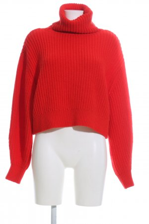 H&M L.O.G.G. Coltrui rood kabel steek casual uitstraling
