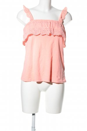 H&M L.O.G.G. Ruche blouse roze casual uitstraling