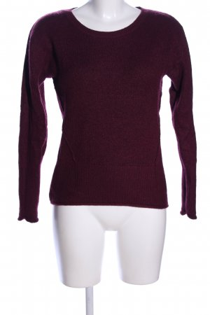 H&M L.O.G.G. Rundhalspullover rot Casual-Look