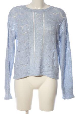 H&M L.O.G.G. Rundhalspullover blau Casual-Look