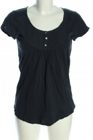 H&M L.O.G.G. Schlupf-Bluse schwarz Casual-Look