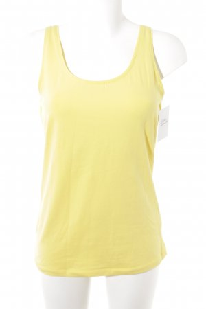 H&M L.O.G.G. schulterfreies Top gelb Casual-Look