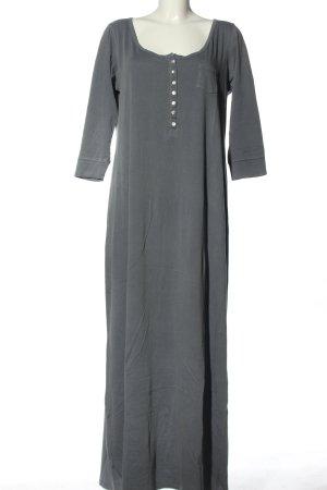 H&M L.O.G.G. Shirtkleid hellgrau Casual-Look