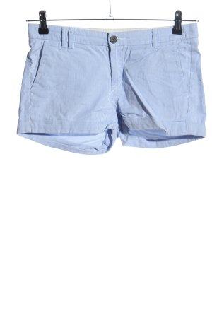 H&M L.O.G.G. Shorts blau Streifenmuster Casual-Look