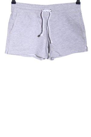 H&M L.O.G.G. Shorts hellgrau meliert sportlicher Stil
