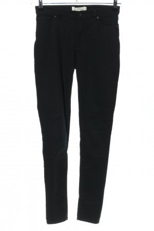 H&M L.O.G.G. Skinny Jeans schwarz Casual-Look