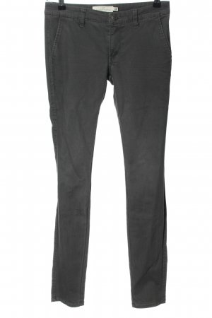 H&M L.O.G.G. Skinny Jeans hellgrau Casual-Look