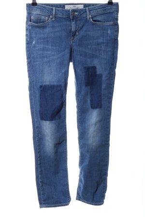 H&M L.O.G.G. Slim Jeans blau Casual-Look
